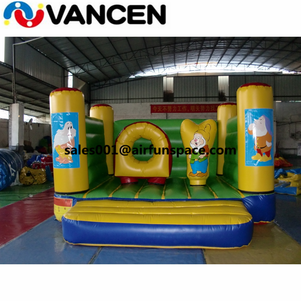 Cheap 3x4m bouncing castle inflatable jumping bed without tent PVC durable inflatable jumping bouncer with free air blowerCheap 3x4m bouncing castle inflatable jumping bed without tent PVC durable inflatable jumping bouncer with free air blower