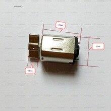 2 шт. DC 3-6 в мини-двигатель электрического вибратора сильный вибрационный двигатель для игрушек, щетинные роботы, ударный массажер аксессуары