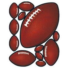 HotMeiNi 15 cm   20 cm Janela Se Apega Adesivos Decorações Do Partido Do  DIA DO JOGO de Futebol Americano Acessórios JDM etiquet. 9c7fc6ed79b04