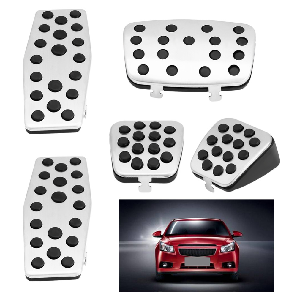 Manual Automatic Transmission Car Clutch Brake Foot Pedals Cover Treadle Non-Slip for <font><b>Chevrolet</b></font> <font><b>Cruz</b></font> for Vauxhall Insignia A image