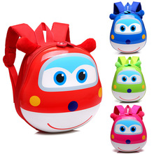 Anime Super Wings schoolbag Model Mini Planes toy Transformation Airplane Robot Action Figures superwings toys for kids 29CM
