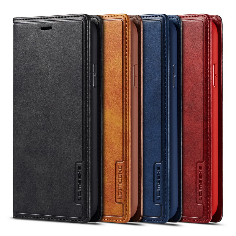 Magnetic Real Genuine Leather Flip Wallet Case For IPhone XR 7 XS Max Cases Card Holder Cover For Coque IPhone X 6s 8 Plus 6 11