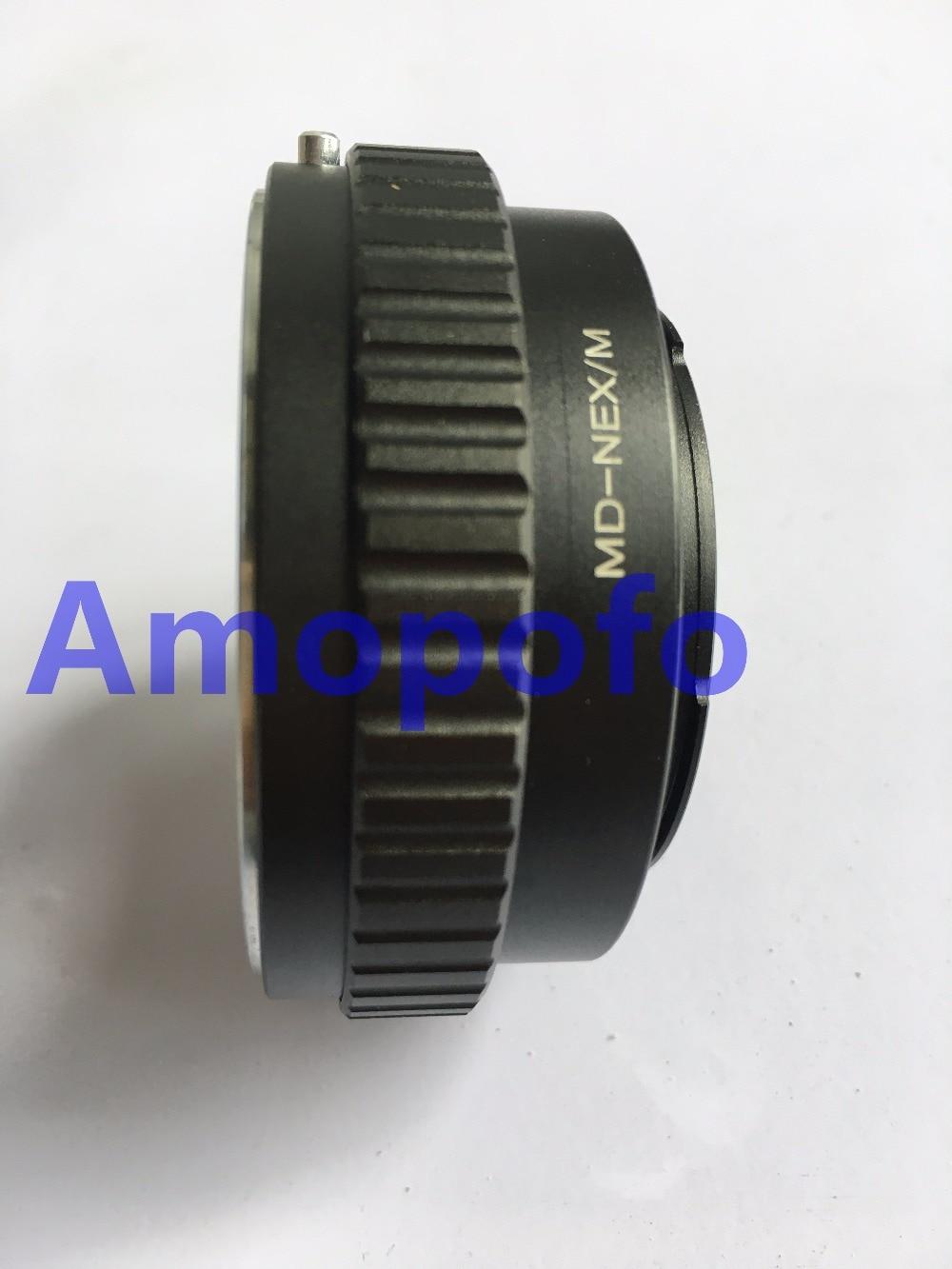Amopofo MD-NEX / M adapter a Minolta MD lencsék és a SonyE - Kamera és fotó - Fénykép 3