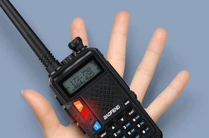 Image 4 - Baofeng UVT2 R9 walkie talkie dual band 136 174mhz 400 520mhz 2800mAh battery 128CH USB directly charger two way radio