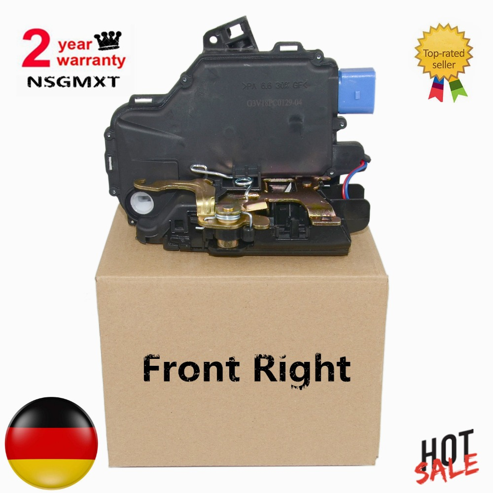 AP01 Front Right For VW New Beetle/T5 Transporter,Multivan 5,Kasten/Polo/Lupo/Seat Ibiza 4/Fabia Door Lock Mechanism 6QD837016E