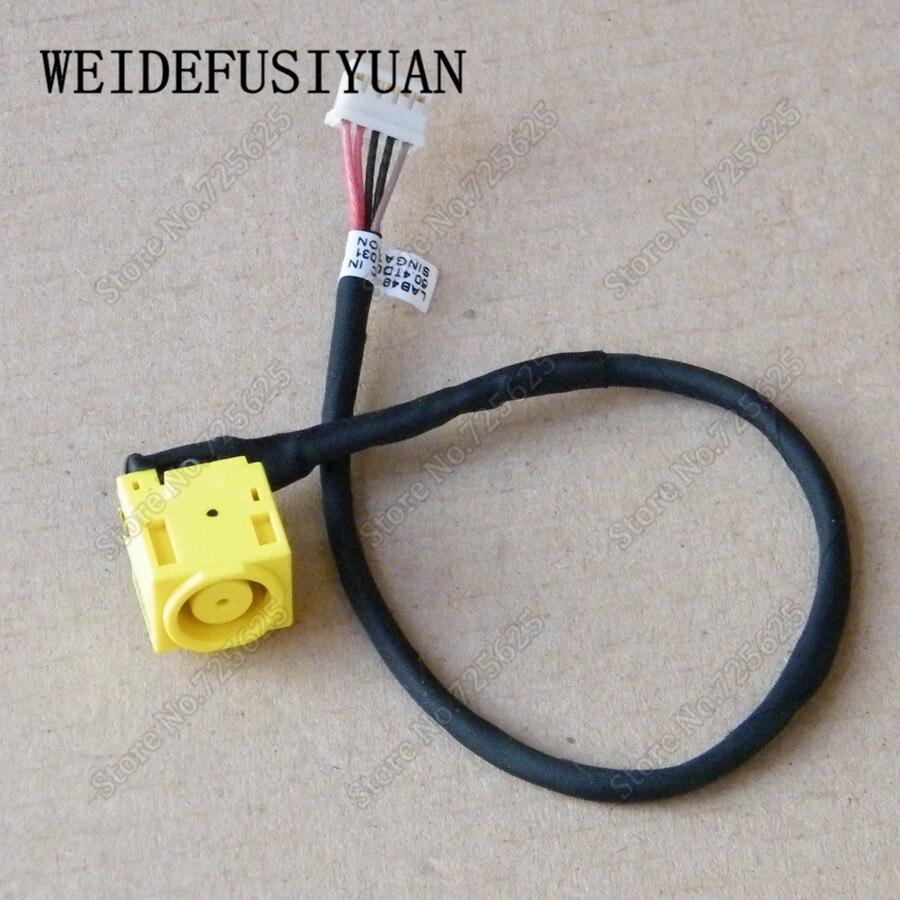 Nowe gniazdo zasilania DC podłączyć Port ładowania gniazdo złącza drutu kabel uprząż dla Lenovo B480 B485 B490 M490 M490S M495 v480 V480C