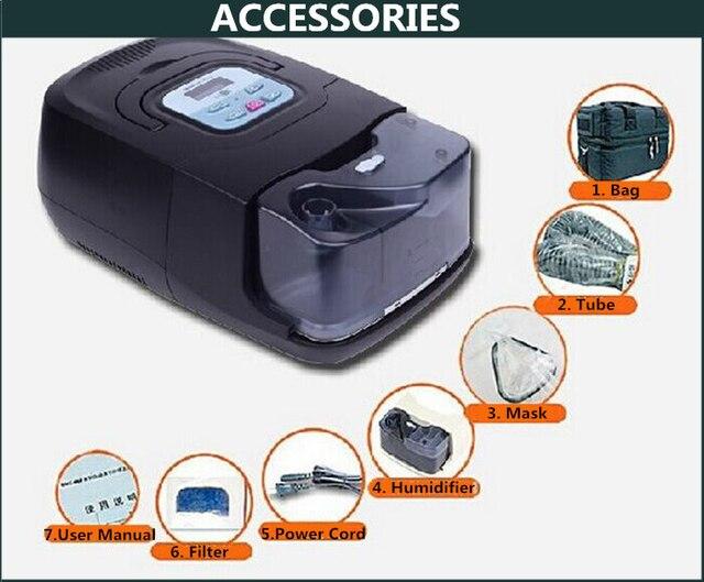 Doctodd GI APAP Machine Best Auto CPAP APAP Ventilator Portable Ventilation Continuous Automatic Positive Airway Pressure 4