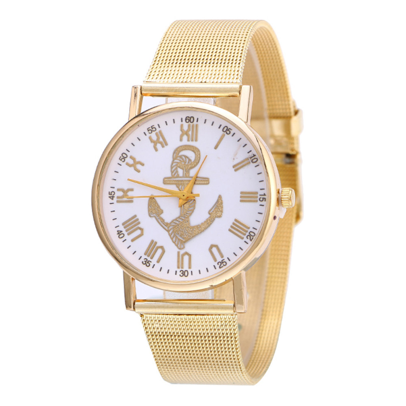 Excellent Quality Brand New Fashion Ladies Luxury Gold Quartz Wristwatches Women Famous Brand Watches Relojes Mujer Montre Femme
