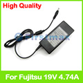 19 V 4.74A 90 W laptop charger ac power adapter para Fujitsu LifeBook AH512 AH502 AH544 AH530 AH531 AH550 AH552 AH562 AH572 BH531