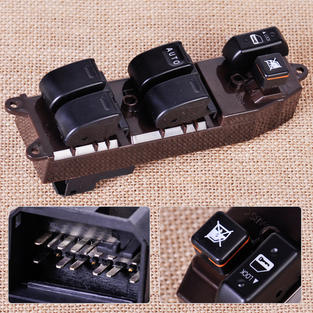 Electric Power Window Master Control Switch fit for Toyota Camry Sienna Left Hand Drive cars 84820-AA050 84820-AA070 84820AE012