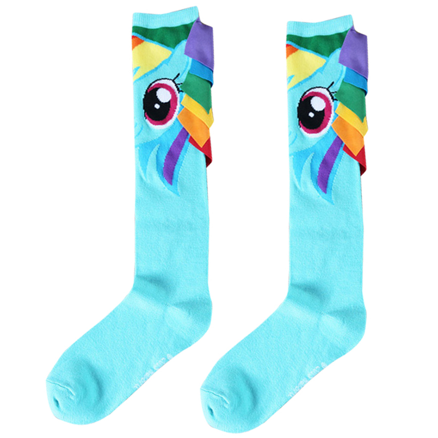 The Horse General   Socks   Sweet Cartoon General Warm Stitching Pattern Antiskid Invisible Casual Blue Women Lady   Socks