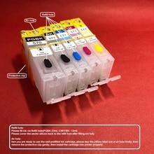 цена на 5pcs Refillable ink cartridge PGI-570XL PGI-570 CLI-571 for Canon PIXMA MG5750 MG5751 MG5752 MG5753 MG6850 MG6851 MG6852 MG6853