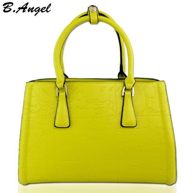 17ee5a92b28e1c High quality candy color world map women bag fashion women messenger bags  famous brand designer handbags women leather handbags