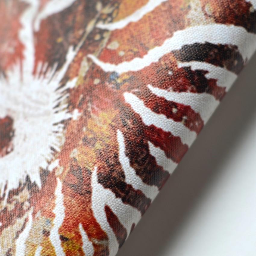 3 buah colorful Nautilus keong shell rumah antik dekoratif kanvas - Dekorasi rumah - Foto 4