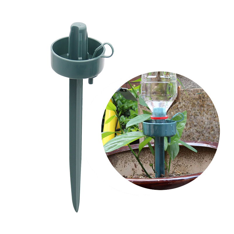 DIY Automatic Watering Dripper Seepage Drip irrigation Waterer for Potted Plants Greenhouse Office Watering Flowers 10 Pcs(China)