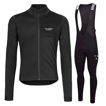 Runchita 2018 Pro team inverno velo térmica manga comprida ciclismo jersey set homens Lana Invierno bicicleta bicicleta Ropa ciclismo Traje