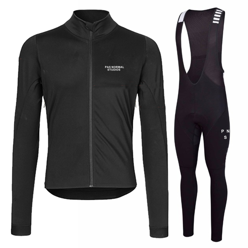 Runchita 2020 Pro Team Winter Thermal Fleece Long Sleeve Cycling Jersey Set Men Bike Bicicleta Invierno Lana Ropa Ciclismo Traje