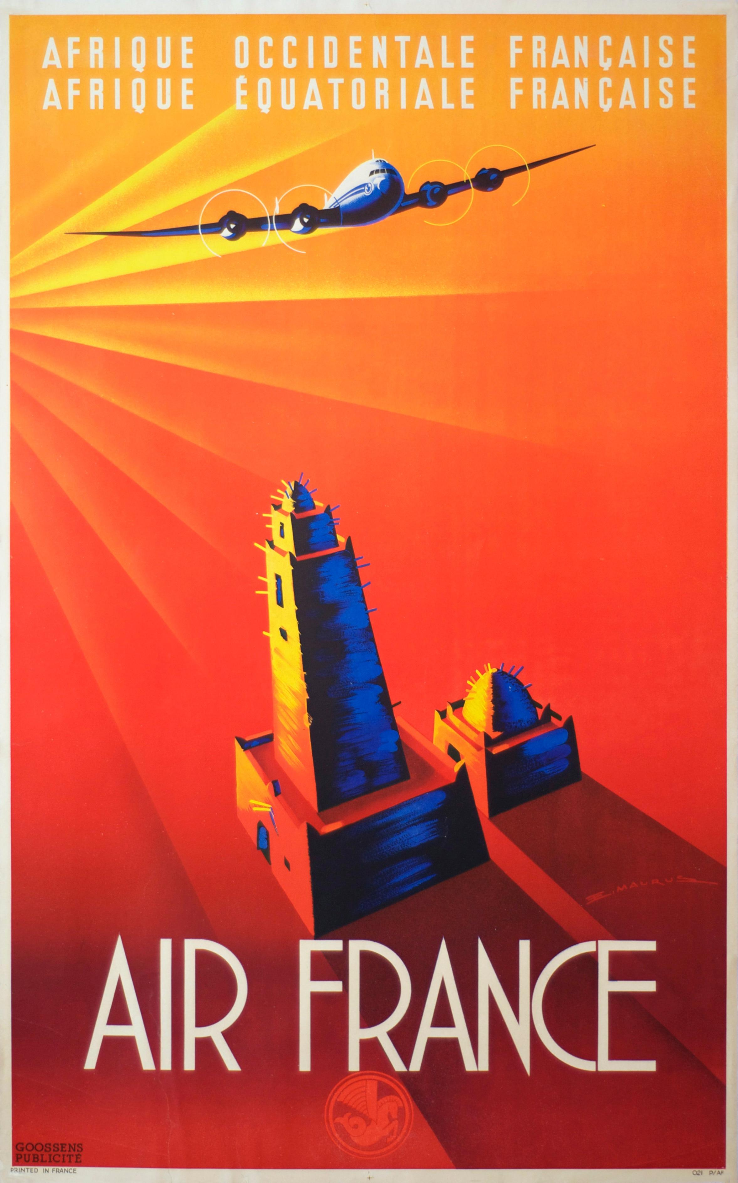 Poster design diy - Air France Dubai Maps Pop Art Retro Vintage Kraft Travel Poster Decorative Diy Wall Sticker Home Bar Posters Decoration