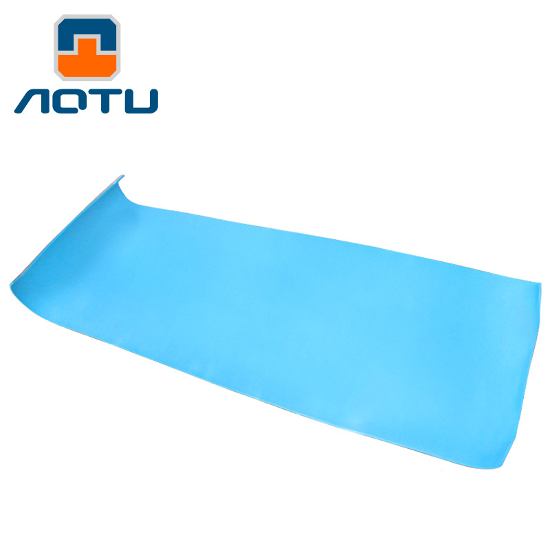 NEW 2019 Outdoor Camping Single aluminum membrane thick dampproof mat picnic mat leisure mat 180 60 0 6 CM tent in Camping Mat from Sports Entertainment
