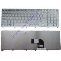 NEW FOR Sony Vaio SVE17 SVE1711 SVE1712 SVE1713 SVE1712L1E SVE1713G1EW SVE1711C5E SVE171C11 Witte Russian RU Laptop