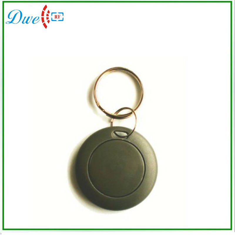 DWE CC RF Readable RFID Tokens 125khz TK4100 Tags ID Card Key Chain Card Access