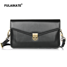 FULAIKATE 6.3 Striae Shoulder Bag for Samsung Galaxy MEGA 6.3 GT-I9200/i9208/9152/9158/p709 Universal 2 layer Pocket Phone Case цена