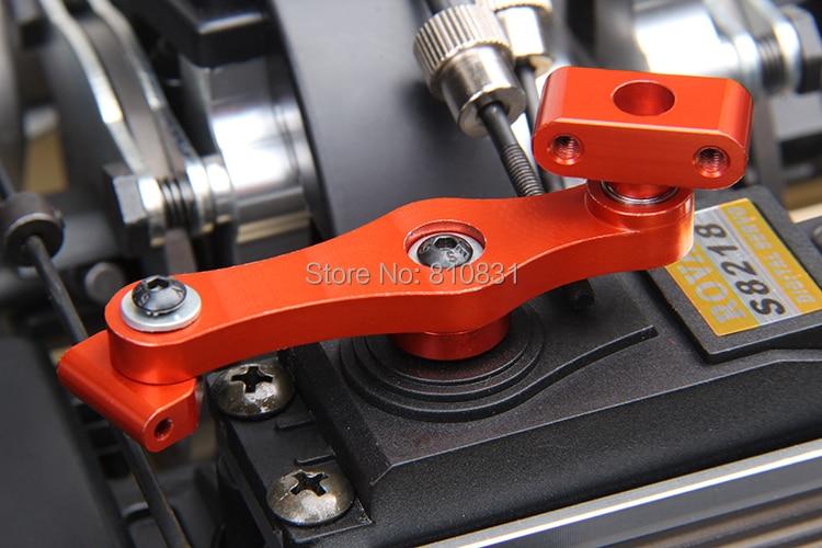 LT CNC Metal throttle servo arm kit (17T/15T) for 1/5 RC CAR HPI ROVAN baja losi 5ive-T parts 87063 rovan cnc metal rear suspension arm set fit hpi baja losi 5ive t parts