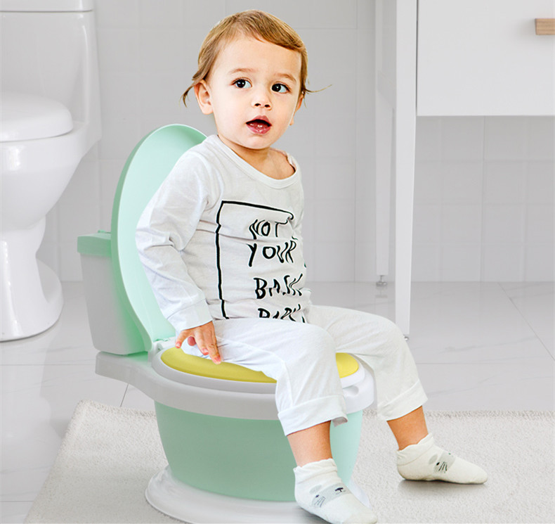 Potty Chair Baby Pot Baby Potty Boy Urinal Training Infant Pee Toilet Seat Soft Cushion for Winter Portable Children Urinal | Happy Baby Mama
