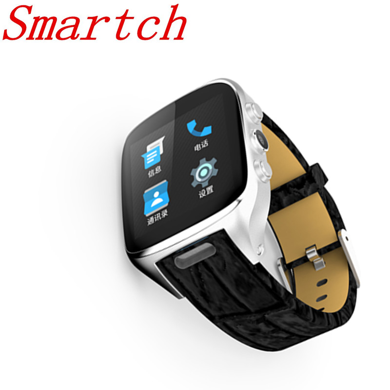 Smartch X01S 2.0M HD Camera Quad Core Smartwatch 1G+3G SIM Card Android 5.1 WIFI Bluetooth Internet GPS Waterproof Wearable Smar hd 4kx2k s905 quad core 2 4ghz wifi
