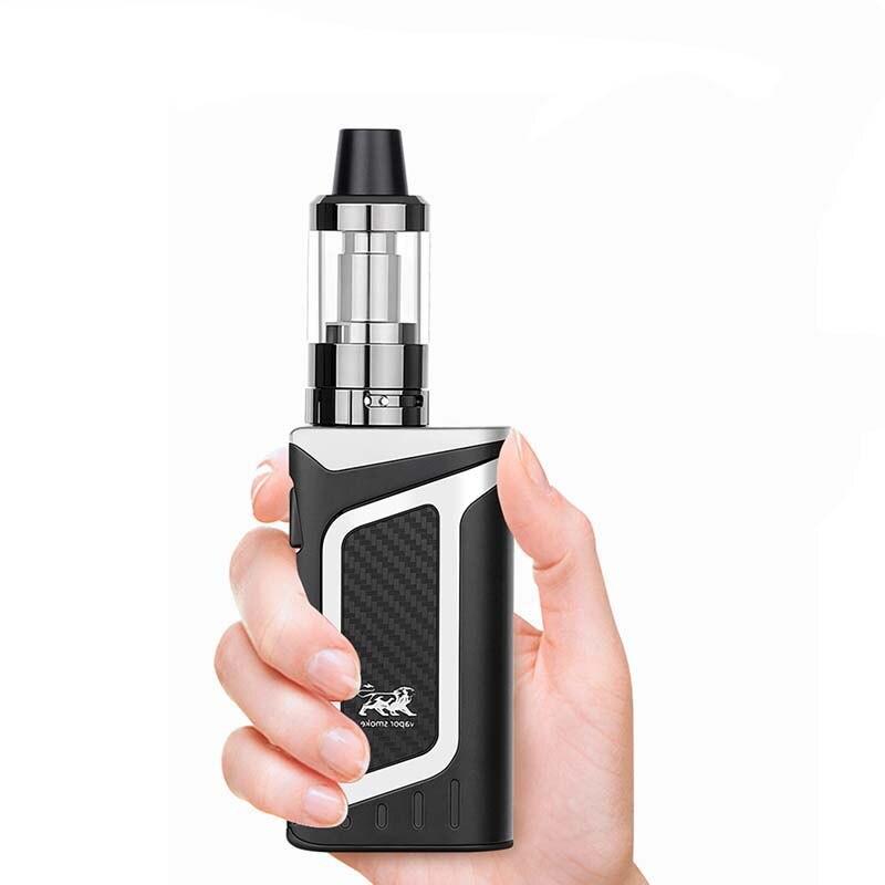 FERSHA electronic cigarette 80W vape pen mod kit hookah 2000mah battery 510 metal case 3.5ml 0.5ohm e-cigarette atomizer vaper