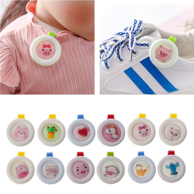 5 Pcs Summer Mosquito Repellent Button Baby Kids Buckle Outdoor Anti-mosquito Child Repellent Reject Adults Protection image