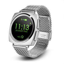 Original A11 Voll runde Heart Rate Smart Uhr MTK2502 BT4.0 Smartwatch für ios Android besser als U8 DM360 S2 DZ09