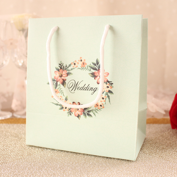 30PCS Wedding gift bag creative style bags handbag paper bags wholesale candy box packing shopping accessories