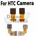 100% original frente pequena câmera cabo flex para htc one m7 801e lente cam câmera frontal cabo flex para htc one 2 M8