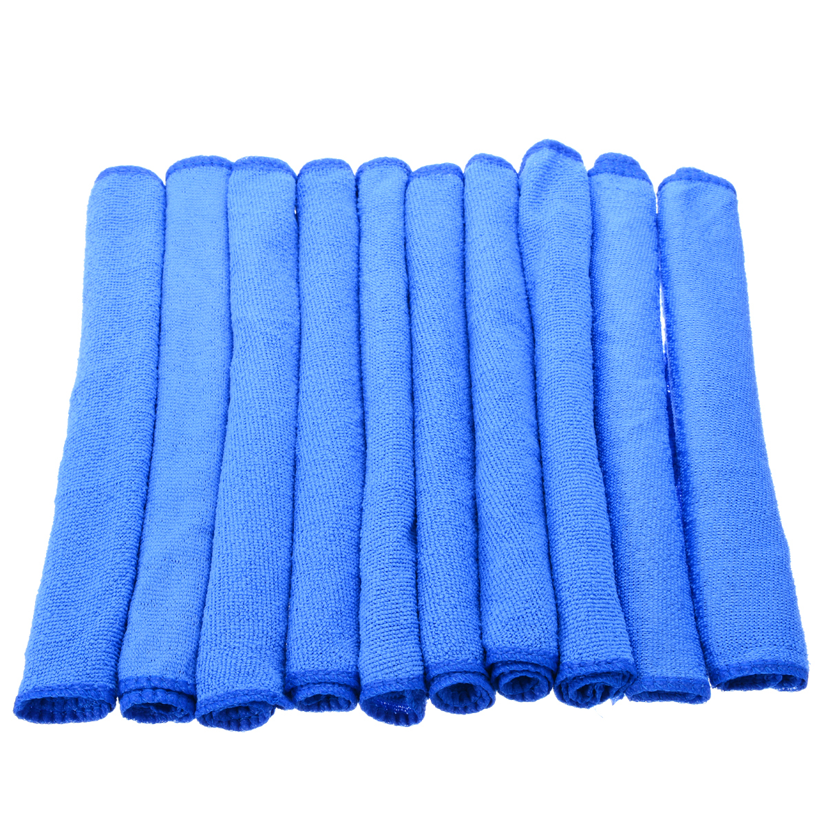Image 5 - 10pcs Blue Microfiber Cleaning 30*30cm Auto Car Detailing Soft Microfiber Cloths Wash Towel Duster Home Cleaning Tools-in Car Washer from Automobiles & Motorcycles