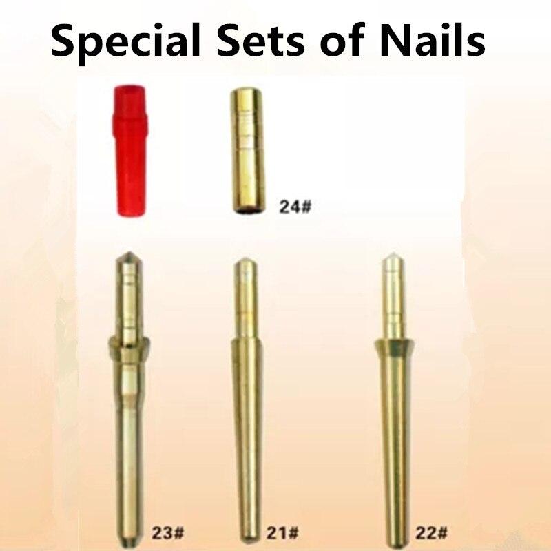 1000 pièces laboratoire dentaire spécial ensembles de clous en laiton goujons trois différentes tailles choisir