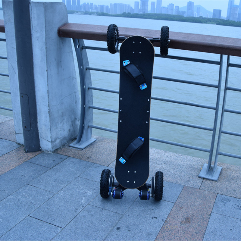 2017 New offroad 4 wheel wireless remote control long board 1650w electric  skateboard-in Self Balance Scooters from Sports   Entertainment on  Aliexpress.com ... 7683030b4b0