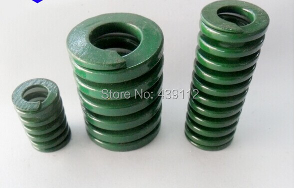 free shipping 16mm x 8mm x 40mm Mould Flat Wire Compression Spring 10pcs/lot free shipping 16mm x 8mm x 50 mm green metal tubular section mould die spring 10pcs lot