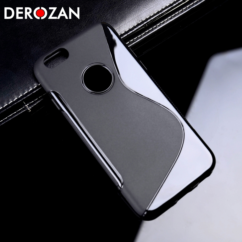 DEROZAN <font><b>Cases</b></font> <font><b>For</b></font> IPhone 7 Cover 6 6S Plus 5S SE 4S 5C <font><b>Lenovo</b></font> K3 Note S90 <font><b>S90a</b></font> A319 K6 Power A2010 Z90 <font><b>Phone</b></font> Covers Luxury Shell image
