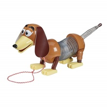 Disney Toy Story 4 Slinky Dog Pixar Animated Character Model 1:1 Bench Glowing Sound Childrens Gift for Children