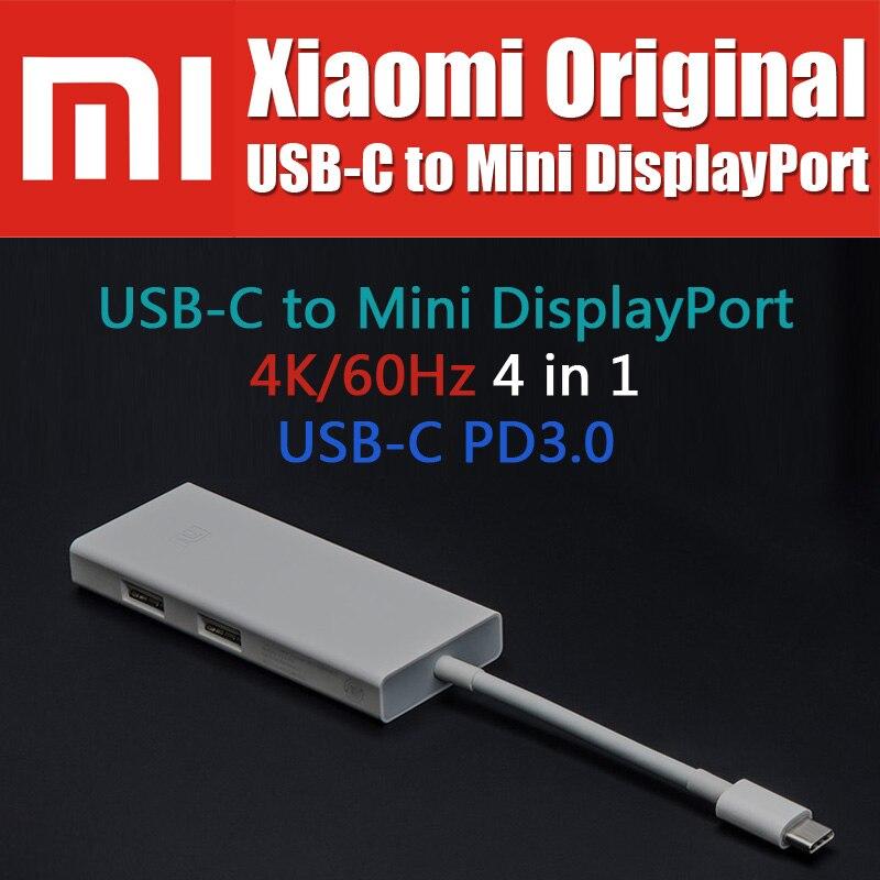 4K 60Hz PD3.0 Xiaomi Original USB Type C to Mini DisplayPort adapter cable For Macbook Xiaomi Notebook Phone Pad ZJQ02TM