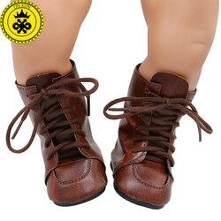 Детская обувь для кукол, милые разноцветные ботинки для снежной погоды розового цвета, размер 43 см, аксессуары для кукол xie573