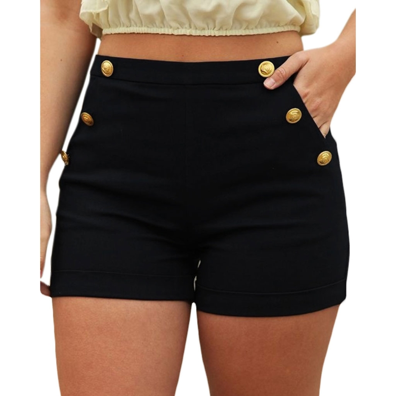 2018 Plus Size Women Skinny   Shorts   Sexy   Short   Female Casual   Short   Elastic Waist