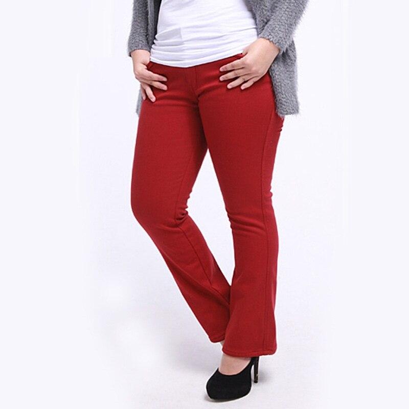 Plus Size 38 Pants Women Winter Style Autumn Warm New Fashion Capris