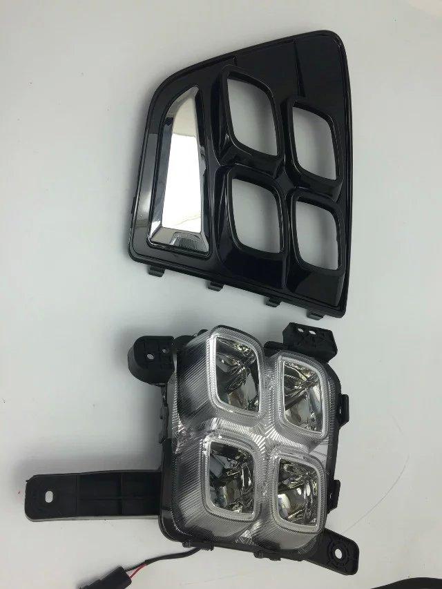 СИД DRL дневного света светильника тумана для Hyundai IX25 высокое качество супер яркий