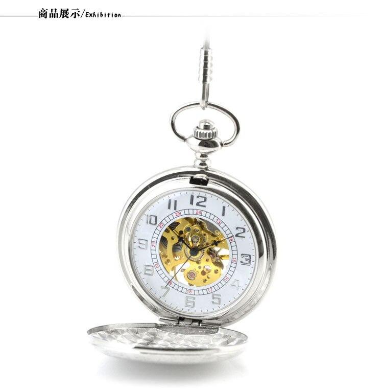 Homens Relógio de Bolso Do Vintage Relógio