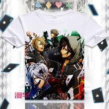 Nueva moda Mobile Suit AMNESIA cosplay patrón de la camisa de productos de Anime AMNESIA camiseta hombres y mujer envío gratis
