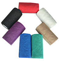 10Pcs/Pack Nonwoven Self Adhesive Sport Elastic Bandage 10cm*4.5m Strain Injury Support Wrap Tape Multi Color For Chosen