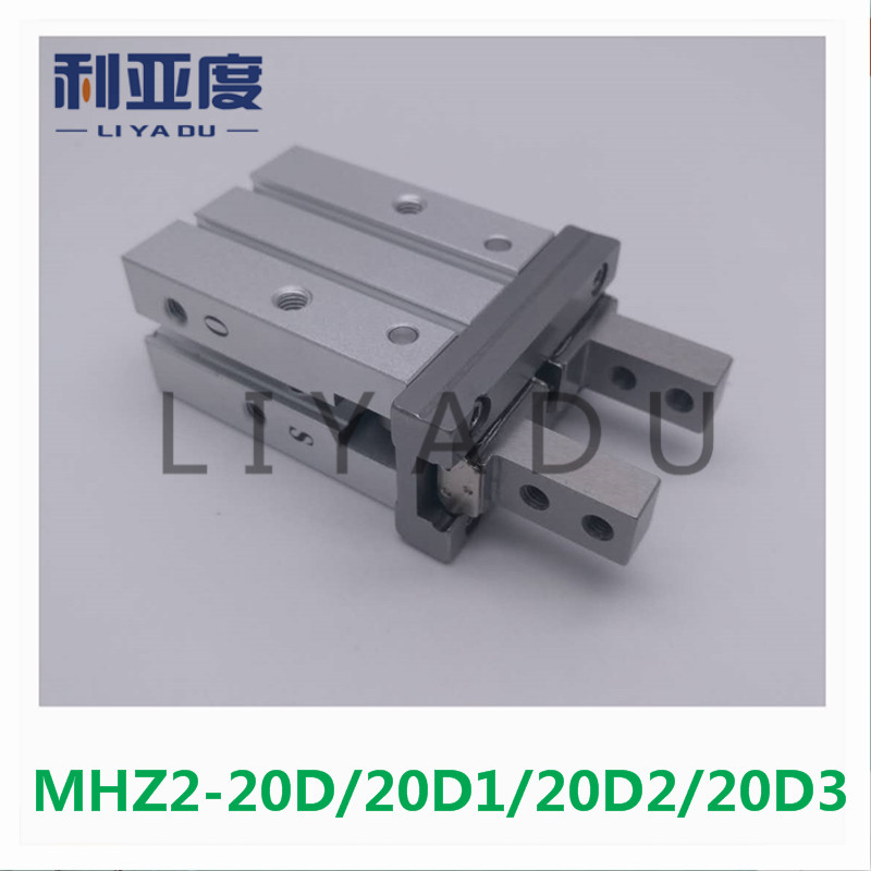 MHZ2-20D MHZ2-20D1 MHZ2-20D2 MHZ2-20D3 pneumatic finger cylinder parallel open air claw mhz2 10d parallel style air gripper cylinder double acting sns pneumatic parts finger air claw