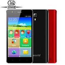 """Vkworld F1 personnes âgées Smartphone 4.5 """"grand Haut-Parleur MTK6580M Quad Core Android 5.1 1 GB RAM 8 GB ROM 3G WCDMA Double SIM mobile téléphone"""